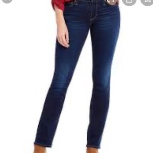 Lucky Brand sweet straight in twilight blue jeans